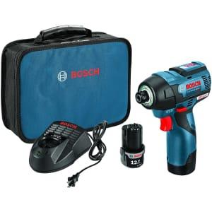 Bosch 12-Volt Max EC Brushless Impact Driver Kit for $160