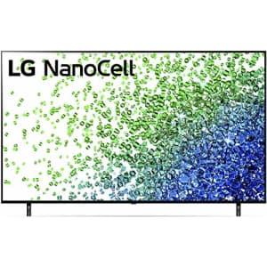 "LG 75NANO80UPA Alexa Built-in NanoCell 80 Series 75"" 4K Smart UHD NanoCell TV (2021) for $1,197"