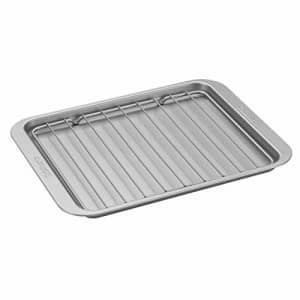 """Cuisinart AMB-TOBPRK Toaster Oven Broiling Pan w/ Rack, silver, 11.2""""(l) x 8.6""""(w) x 0.6""""(h) for $19"""