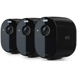 Arlo Essential Spotlight Camera 3-Pack for $286