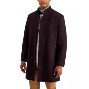 INC Men's Kylo Wool-Blend Top Coat for $35