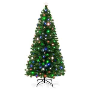 Best Choice Products 7ft. Fiber Optic Artificial Christmas Tree for $120