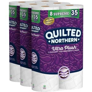 Quilted Northern Ultra-Plush Toilet Paper 24-Pack for $19 via Sub & Save