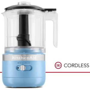 KitchenAid Cordless 5-Cup Food Chopper for $59
