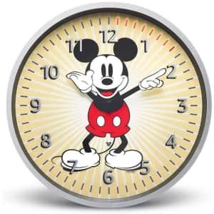 Amazon Echo Wall Clock Disney Mickey Mouse Edition for $45