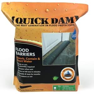 Quick Dam 5-Foot Barrier Flood Dam Bag 2-Pack for $25