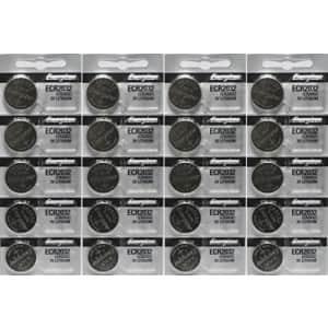 Energizer ECR2032 3-Volt Lithium Coin Batteries (20 Count) for $19