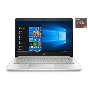 "2020 HP 14"" HD (1366 x 768) Laptop PC, AMD Ryzen 3 3250U Dual-Core Processor, 4GB DDR4 RAM, 1TB for $521"