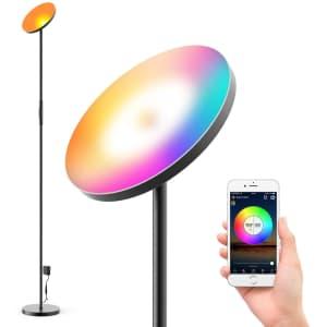 Mezone Smart LED Floor Lamp for $34