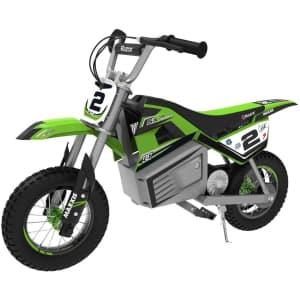 Razor SX350 Dirt Rocket Electric Motocross Off-Road Bike for $269