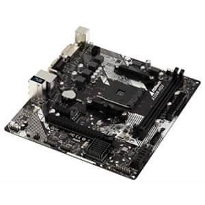 ASRock AMD Ryzen AM4 Chip MicroATX Motherboard for $64