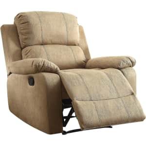 Acme Furniture Bina Big & Tall Microfiber Recliner for $220