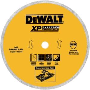 DEWALT Tile Blade, Ceramic, 8-Inch (DW4767L) for $40