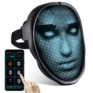 Programmable Bluetooth LED Mask for $63