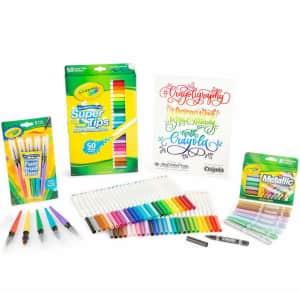 Crayola Crayoligraphy Calligraphy Kit for $23