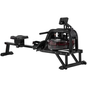 Sunny Health & Fitness Water Rowing Machine Rower for $437