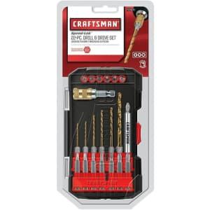 Craftsman Speed-Lok 22-Piece Drill / Driver Bit Set for $15