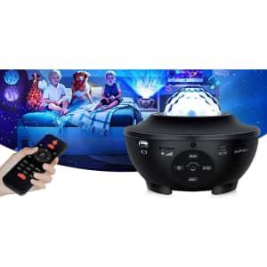 Fimilo Star Projector w/ Bluetooth Speaker for $30