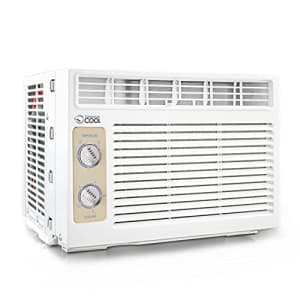 Commercial Cool CC05MWT Window Air Conditioner, 5000 BTU, White for $149