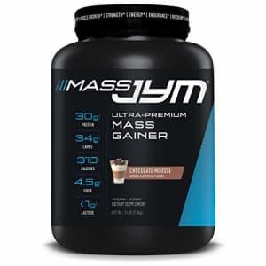 Mass JYM Protein Powder - Egg White, Milk, Whey Protein Isolates & Micellar Casein | JYM Supplement for $54