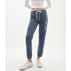 Aeropostale Women's Aero 1987 Floral Cinched Sweatpants for $14