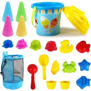 Kidtion 20-Pc. Beach Toy Set for $8