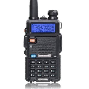 BaoFeng Dual-Band Walkie Talkie 2-Way Ham Radio for $20