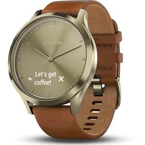 Garmin Vivomove HR Premium Hybrid Smartwatch for $99