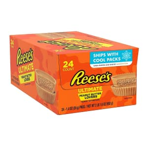 Reese's Ultimate Peanut Butter Lovers 1.4-oz. 24-Pack for $20