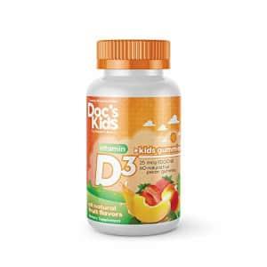 Doc's Kids by Doctor's Best Children's Vitamin D3 Gummies 1000iu, Natural Fruit Pectin Gummies, for for $13