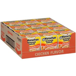 Maruchan Instant Lunch Ramen Noodle Cup 12-Pack for $4