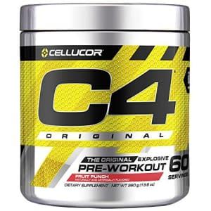 Cellucor C4 Original Pre Workout Powder Fruit Punch | Vitamin C for Immune Support | Sugar Free Preworkout for $50