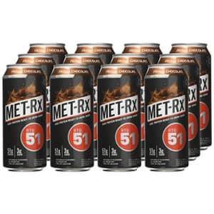 MET-Rx Ready to Drink Protein Shake, Keto Diet Friendly, Snack, Gluten Free, 51g of Protein, With for $50