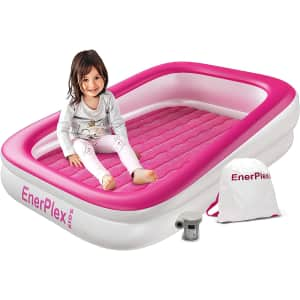 EnerPlex Kids' Inflatable Travel Bed for $36