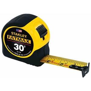 "Stanley FatMax 1-1/4"" x 30-Foot Tape Measure for $27"