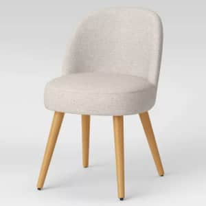 Project 62 Stene Round Upholstered Dining Chair for $111