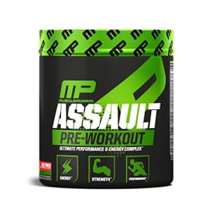 Muscle Pharm MusclePharm Assault Pre-Workout Powder with High-Dose Energy, Focus, Strength, and Endurance, Fruit for $15