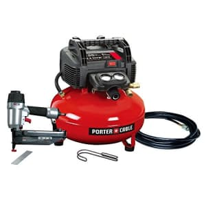 Porter-Cable PORTER CABLE PCFP72671 Finish Nailer/Compressor Combo Kit for $330