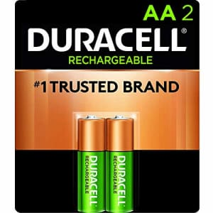 Duracell - Rechargeable AA Batteries - long lasting, all-purpose Double A battery for household and for $8
