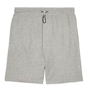 Tommy Hilfiger Men's Adaptive Sweat Shorts with Drawcord Stopper, ABK59 Medium Grey Heather, MD for $28