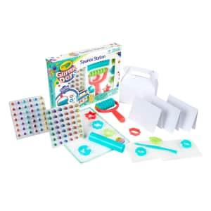 Crayola Glitter Dots Sparkle Station Craft Kit for $9