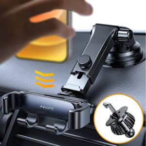 Ainope Gravity Car Phone Mount for $9