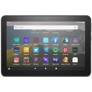 """10th-Gen. Amazon Fire HD 8 32GB 8"""" Tablet (2020) for $60"""