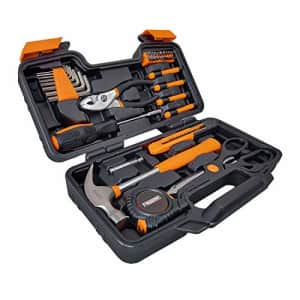 Freeman P39PCHTK 39 Piece Hand Tool Kit with Storage Case for $15