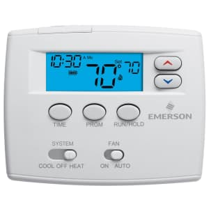 Emerson Single Stage 5/1/1 Programmable Digital Thermostat for $52