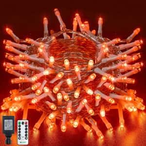 Ollny 60-Ft. Halloween String Lights for $10