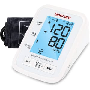 Sinocare Blood Pressure Monitor for $29