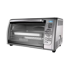 Remington BLACK+DECKER Countertop Convection Toaster Oven, Silver, CTO6335S (Renewed) for $67