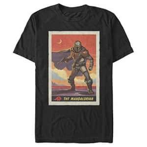 Star Wars Men's T-Shirt, BLACK, medium for $20