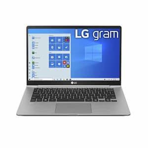 "LG Gram Laptop - 14"" Full HD IPS, Intel 10th Gen Core i5 (10210U CPU), 8GB DDR4 2666MHz RAM, 512GB for $839"